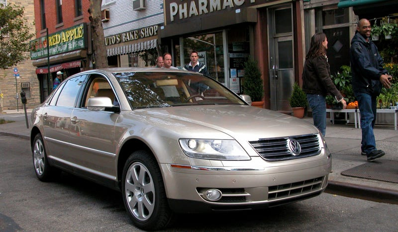 Travel Back In Time With The Volkswagen Phaeton