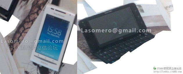 Leaked Sony Ericsson Android Phones Boast Big Screens, Xperia Looks