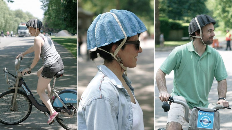 Can a Helmet Made From Recycled Newspapers Really Protect Your Noggin?