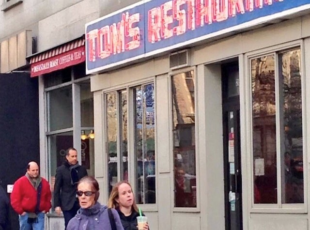 Jerry Seinfeld and Jason Alexander Are Hanging Out at Tom's Restaurant