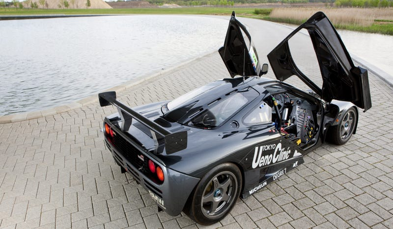 The Legendary History Of The McLaren F1