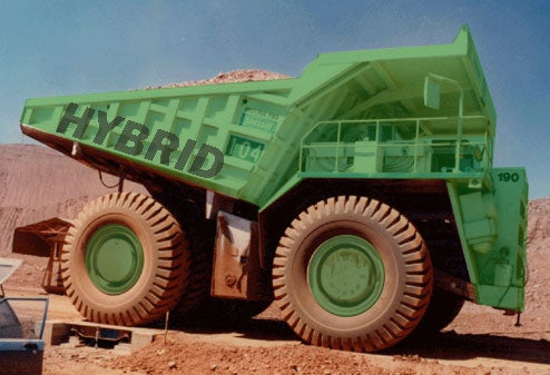GE Gets Into Hybrid Game With Giant Mining Truck