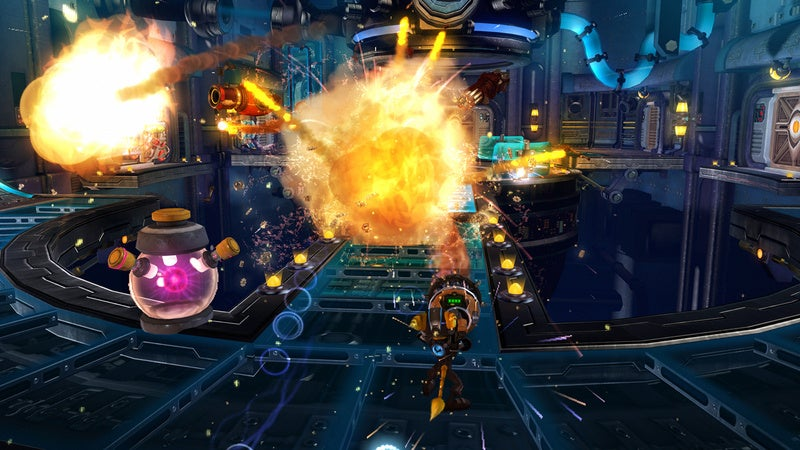 Ratchet & Clank Future: A Crack In Time Preview: Floor Of The Year