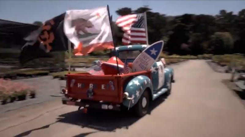 Guy Drives '55 Chevy From California To Brazil For Love Of Soccer & Life
