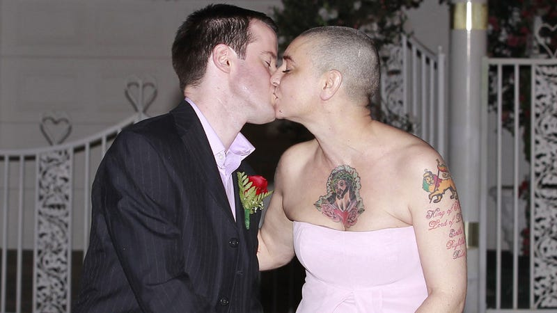 Sinead O'Connor Is Back with Her Husband and Talking Dirty