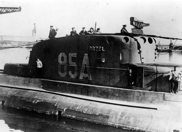 Polonia buscará un submarino desaparecido misteriosamente en 1940 R1pm4pxb0psevcarqmjv