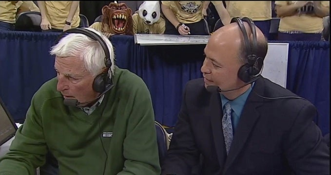 A Panda And A Shrieking Monkey Are Stalking Bob Knight, As They Should Be