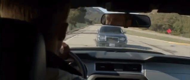 The Ten Most Amazingly Unrealistic Driving Scenes Ever On Film Or TV