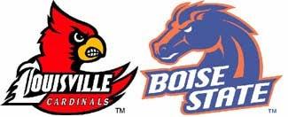 NCAA Pants Party: Louisville Vs. Boise State