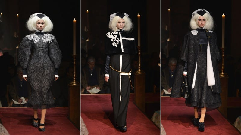 Thom Browne: For the Covetous, Slightly Creepy Nun in You