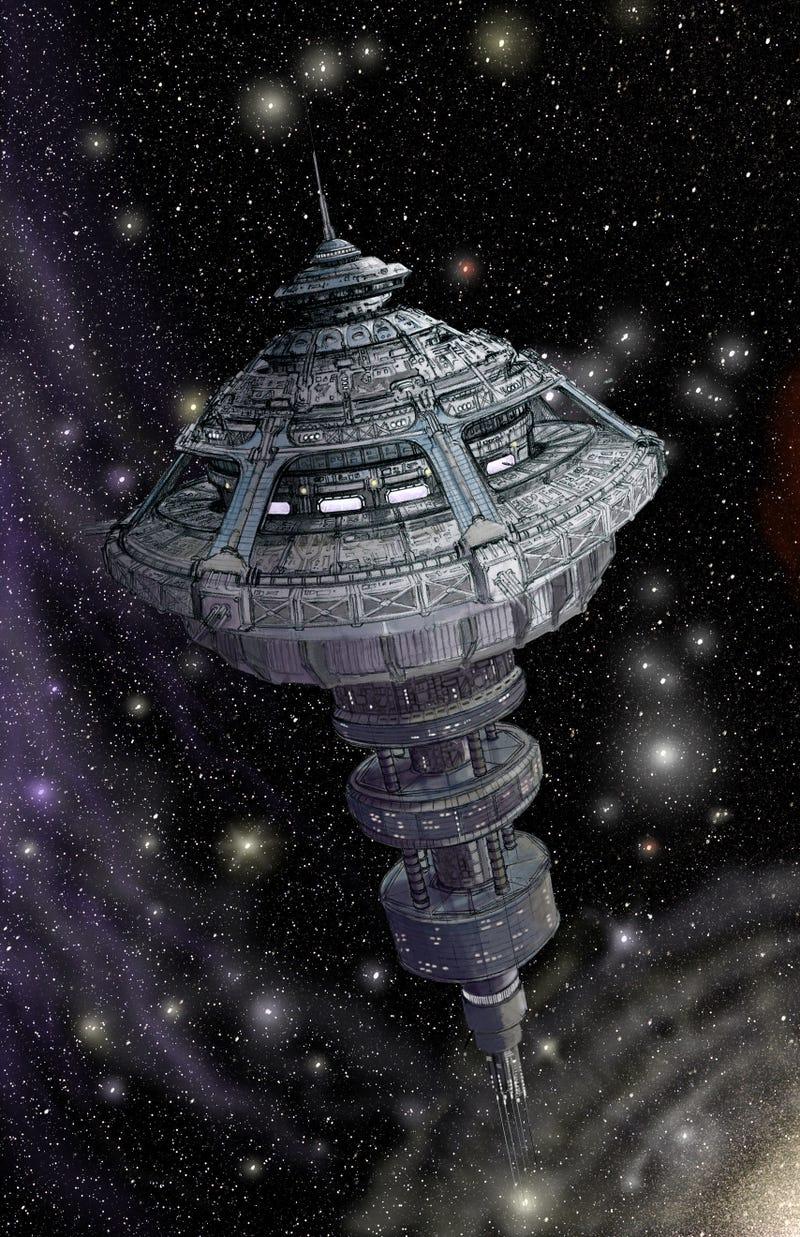 dark matter space station - photo #1