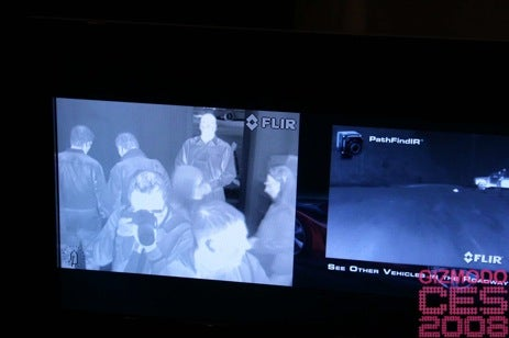 Face-On With FLIR's Night Vision Camera For Cars