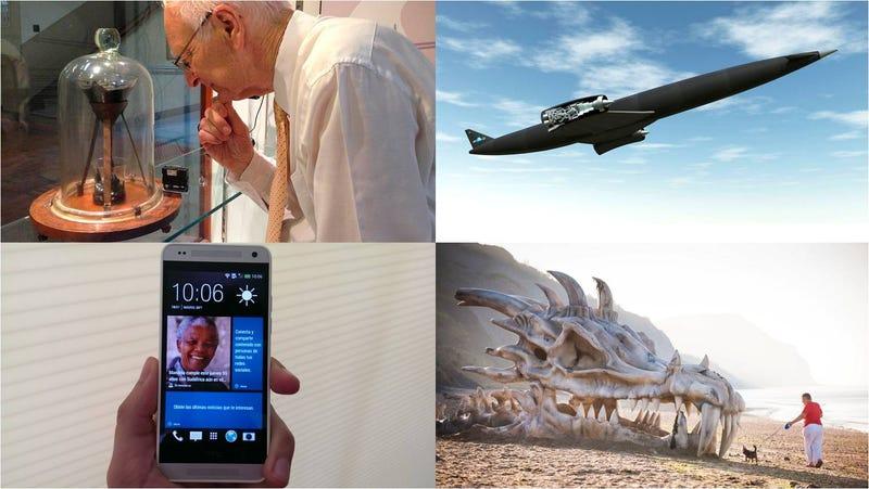 Gotas de brea, móviles y aviones futuristas, las historias de la semana