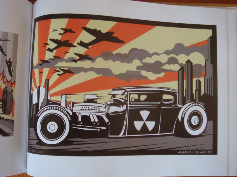 The Hot Rod Art Book: Masters Of Chicken Scratch