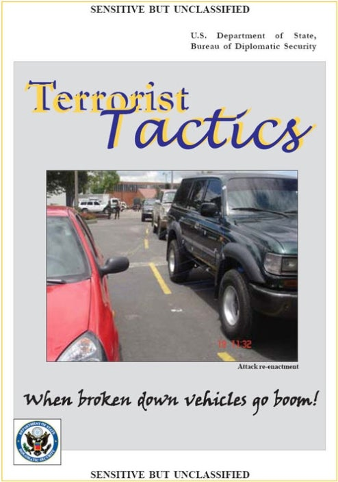 Sensitive State Dept. Document Explains What Happens When Cars Stop Being Police, Start Going Boom