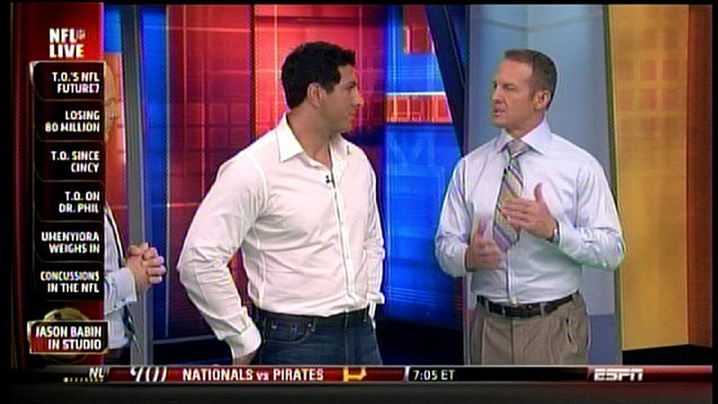 Merril Hoge's Little Tie Is Adorable
