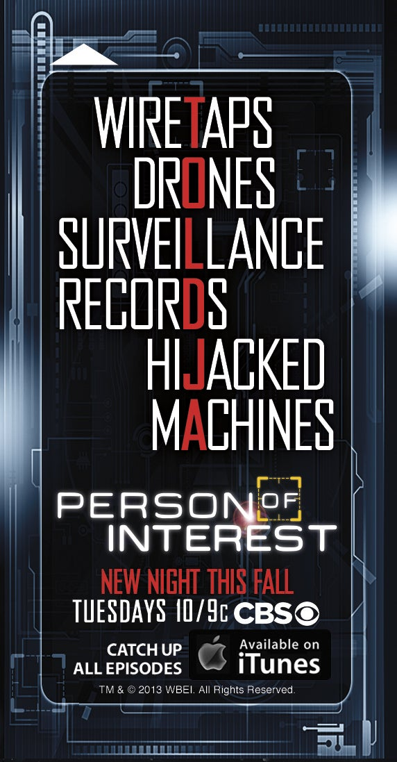 Person of Interest wants to remind you they predicted this NSA sh-t