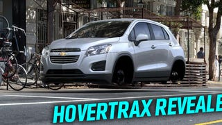 Chevy's Secret HoverTrax Floating Car Leaked Due To Websi