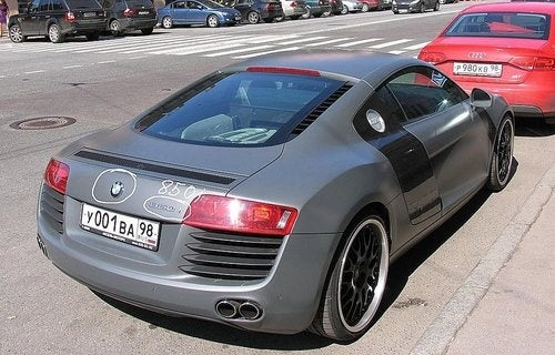 How To Disguise an Audi R8 as a BMW