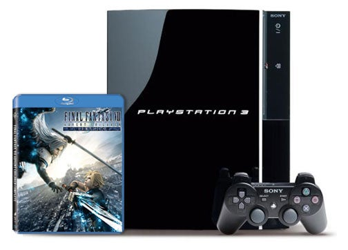 PS3 Getting Bundled With Final Fantasy VII Advent Children Blu-ray Next Week