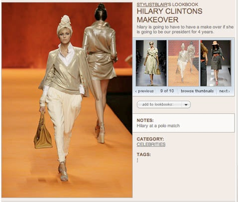 Hillary Clinton Gets a Makeover From An Illiterate Stylist