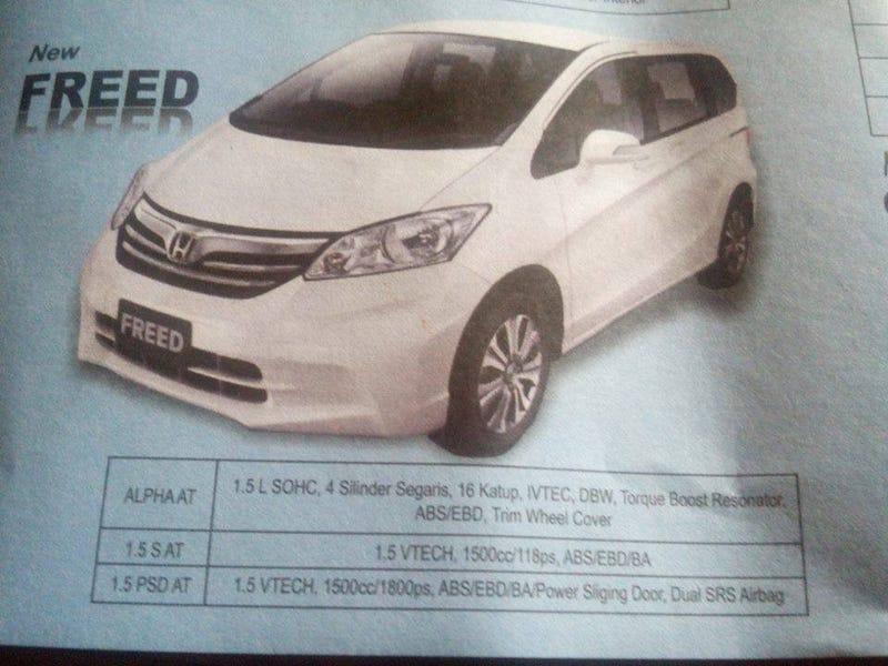 Honda Just Released 1800PS Minivan.