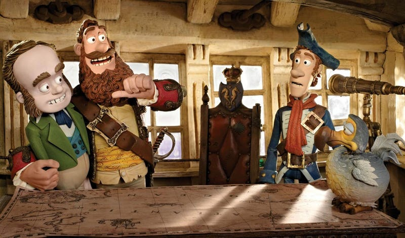 In Pirates!, Aardman's puppets celebrate the power of pretending
