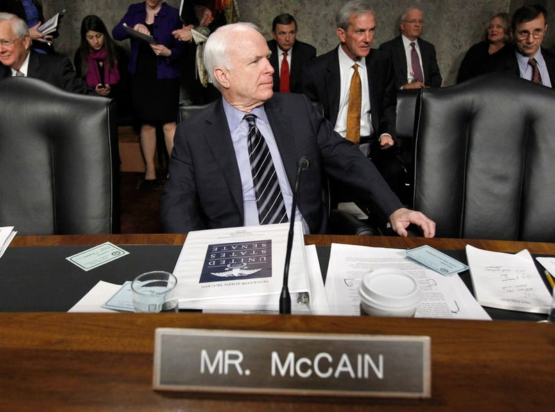 John McCain's Sad, Permanent Crusade Against Gays in the Military