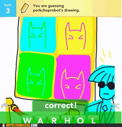 Draw Something Gets Better When It's Draw Batman