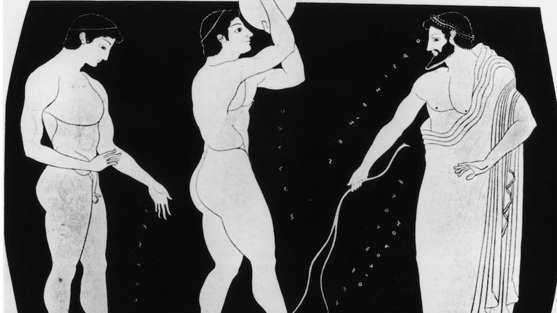 A Brief History of Homoeroticism (and Denial) in the Olympics