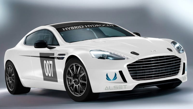 This Is Aston Martin's Hydrogen-Powered Rapide Race Car
