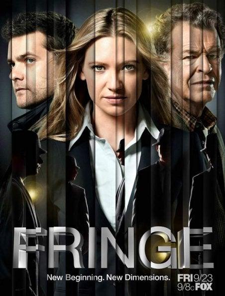 Fringe season 4 promo posters