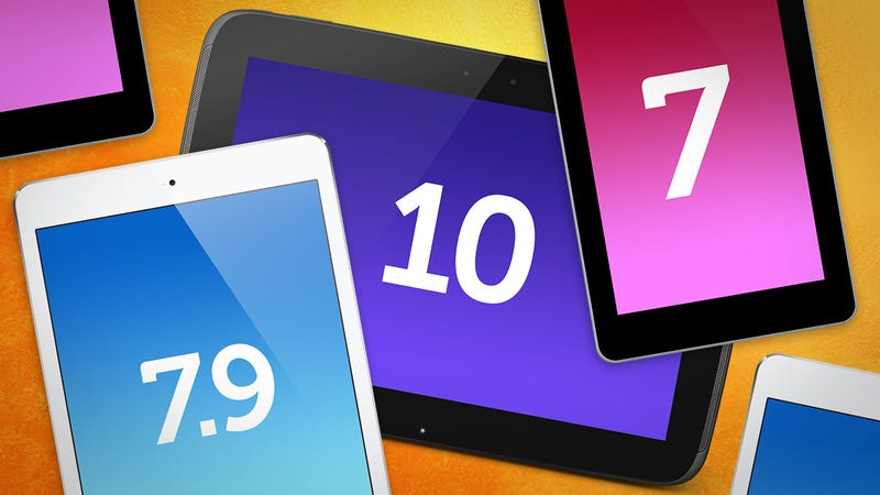 What's Your Preferred Tablet Size?
