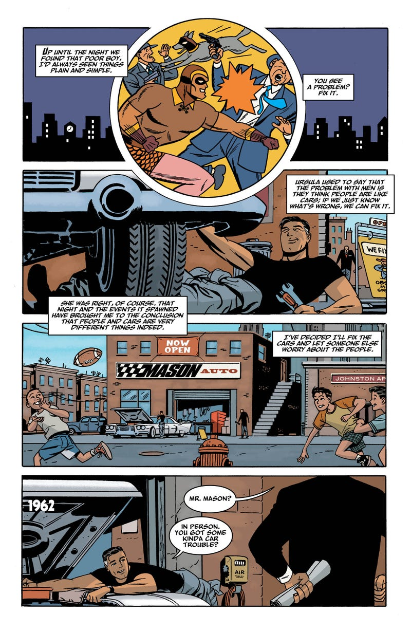 A sneak preview of next week's issue of Before Watchmen
