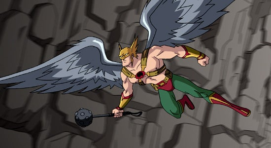 Batman Gets To Know Hawkman Much Better