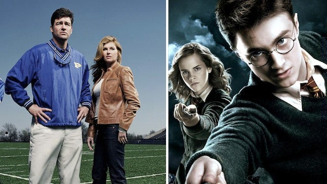 Goodbye, Harry Potter and Friday Night Lights!