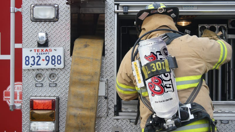 Hero Firefighter Uses Beer To Put Out Beer Truck Fire