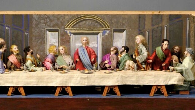 Who wants to own this creepy robotic version of da Vinci's The Last Supper?