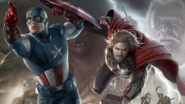 We've seen the first footage from The Avengers!