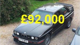 Chris Harris Selling His BMW E30 M3 Sport Evo to Fund Videos