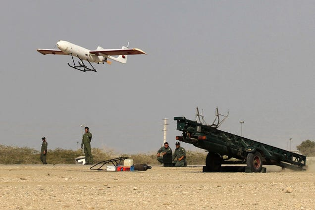 Iran Tests 'Suicide Drone'