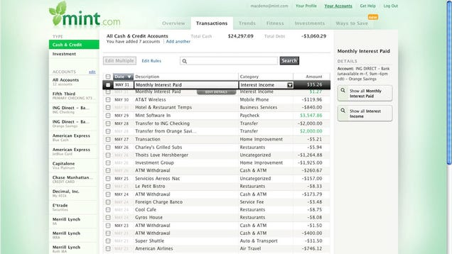 Пять лучших Personal Finance Инструменты