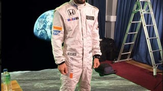 Alonso on the Moon