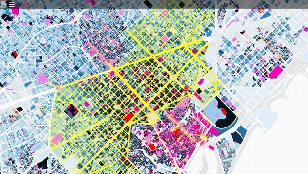 Explore Barcelona's Architectural History With a Colorful Interactive Map