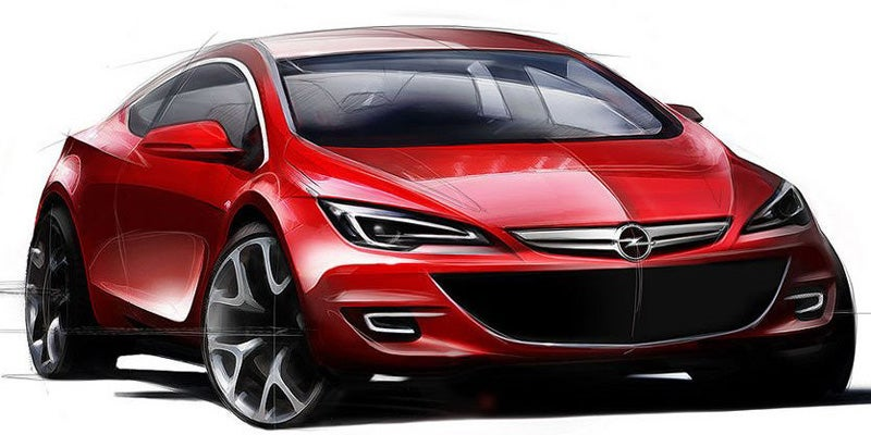 2010 Opel Astra, GTC Get Much-Needed Facelift