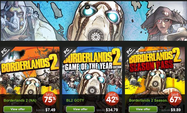 New Humble Bundle, Ghosts For $43, Dirt Cheap Borderlands 2 [Deals]