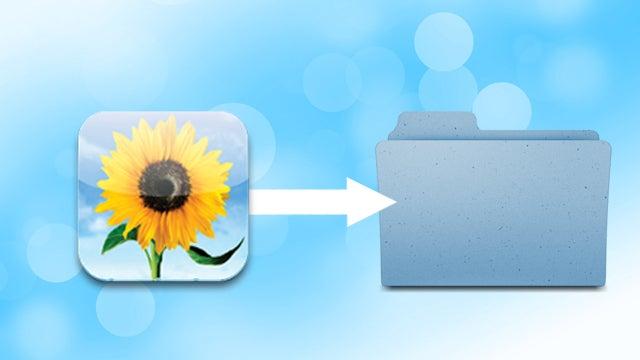 Copy Photo Stream Images to a Folder Automatically