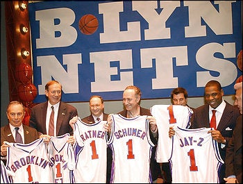 The New Jersey Nets Announce Their New Name