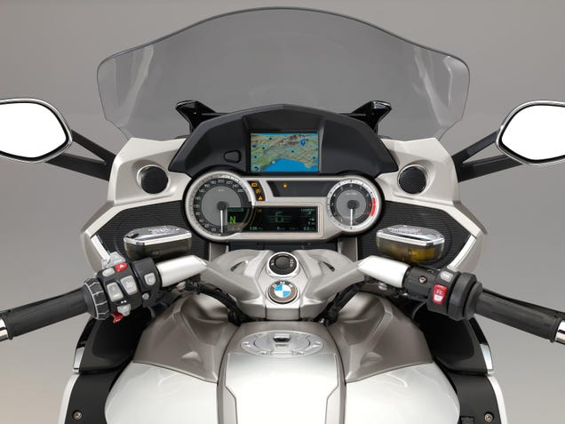Riding BMW's Badass New Sport Bike And Two-Wheeled Luxury Sedan