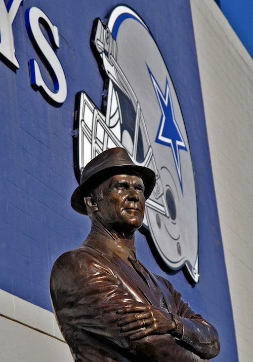 Tom Landry's Widow Says Tom Landry Died A Giants Fan